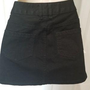 H&M Skirts - H&M Black Jeans Skirt Mini
